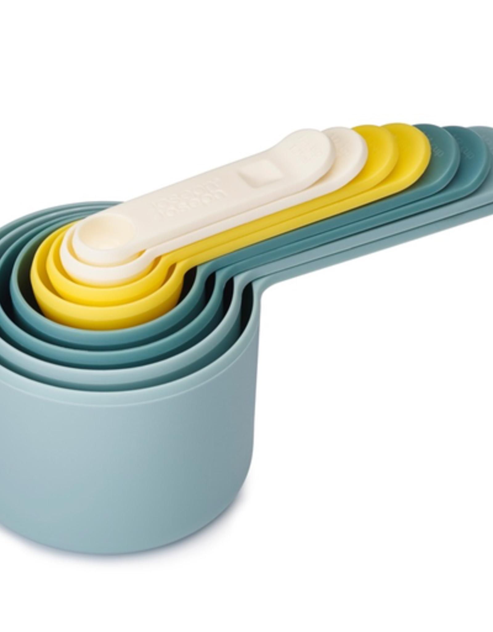 Joseph Joseph Opal Nest Measuring Cups/Spoons Set/8