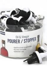 Danesco Oil & Vinegar Pourer/Stopper