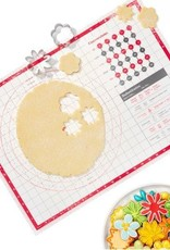 """OXO OXO Silicone Pastry Mat w/Baking Guide/Chart 17.5x24.5"""""""