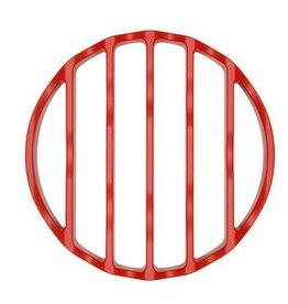 "OXO Silicone Pressure Cooker Rack, Round 7"" Red"