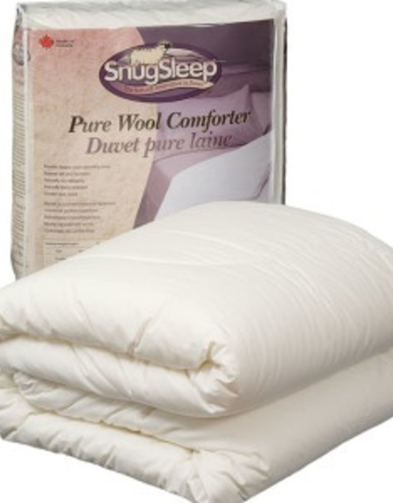 SnugSleep Classic Wool Duvet - Regular Weight, King