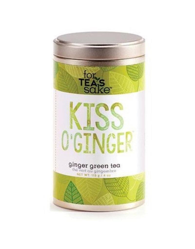 Giftcraft Kiss O'Ginger - Green Tea, 115g