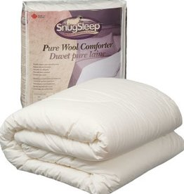 SnugSleep Classic Wool Duvet - Regular Weight, Queen