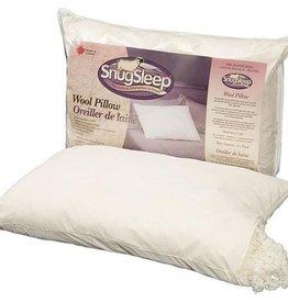 SnugSleep Wool Knop Pillow - Reg Fill Standard