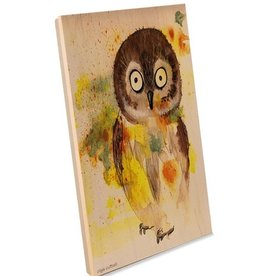 Oladesign 12x12 wood owl