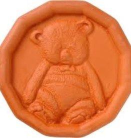 JBK Pottery Brown Sugar Saver, Bear