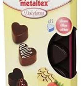 Counseltron Dolce Chocolate Mold Heart + Stand
