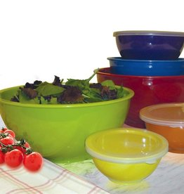 Kitchen Basics Melamine Mixing Bowls w/Lids 12pc