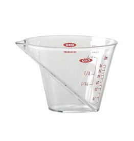 OXO Mini Angled Measuring Cup, 1/4 Cup
