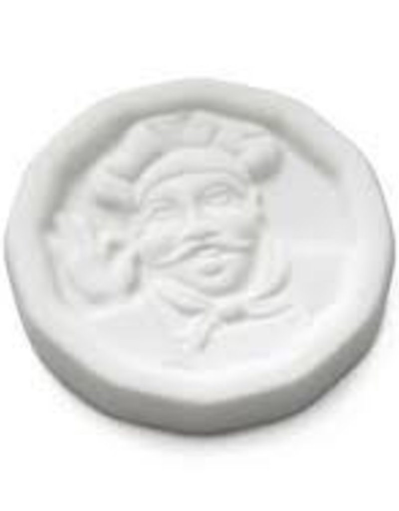 Classic Chef Pot Minder Antique White