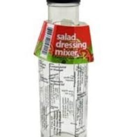 Kitchen Basics Salad Dressing Bottle w/Recipes English