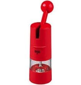 Kuhn Rikon Ratchet Grinder Salt/Pepper/Spice Red
