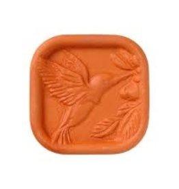 JBK Pottery Brown Sugar Saver - Hummingbird