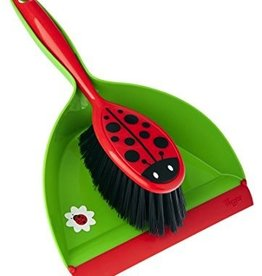 Counseltron Ladybug Dust Pan w/Brush