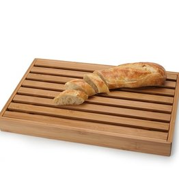 Natural Living Bread Board With Crumb Catcher