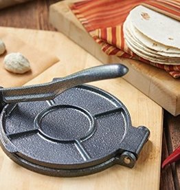 Fox Run Brands Cast Iron Tortilla Press