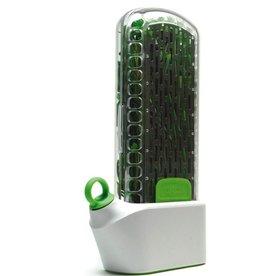 Prepara Herb Savor, Plastic/SS, White & Green
