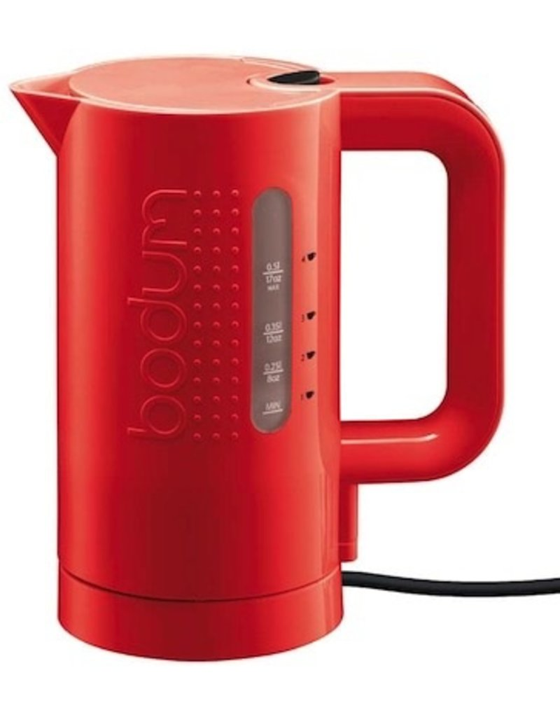 Bodum Bodum Electric Water Kettle 0.5L, Red