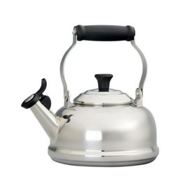 Le Creuset 1.7 L Classic Whistling Kettle, Stainless Steel