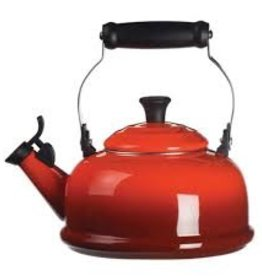Le Creuset 1.7 L Classic Whistling Kettle, Cherry