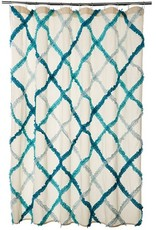"Danica Studio Shower Curtain Ruffle 72""x72"""