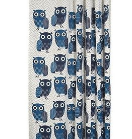 Danica Studio Shower Curtain, Blue Owls