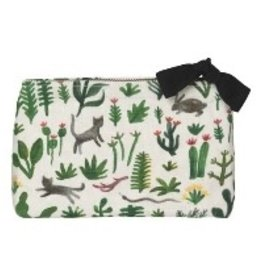Now Designs Small Cosmetic Bag, Secret Garden