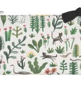 Danica Studio Large Cosmetic Bag, Secret Garden