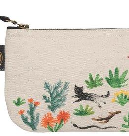 Danica Studio Small Zipper Pouch, Secret Garden
