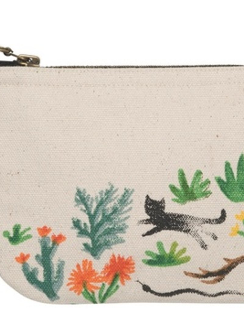 Danica Studio Small Zipper Pouch, Secret Garden
