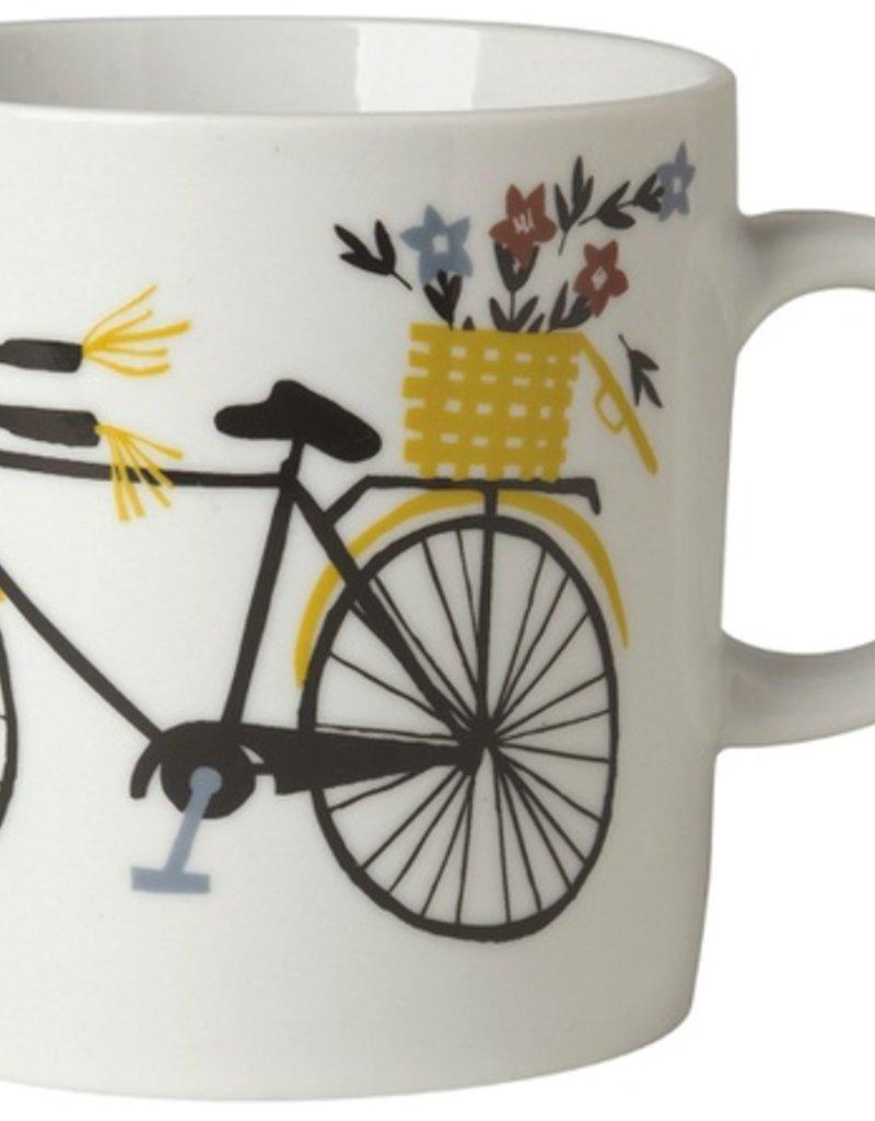 Danica Studio 12oz Short Mug, Bicicletta