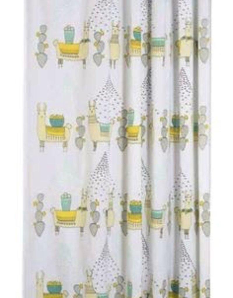 Danica Studio Shower Curtain, Llamarama