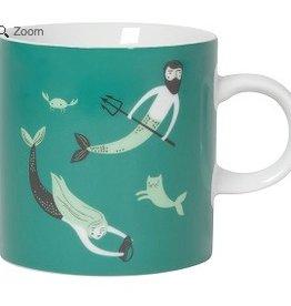 Danica Studio 12oz Short Mug, Sea Spell