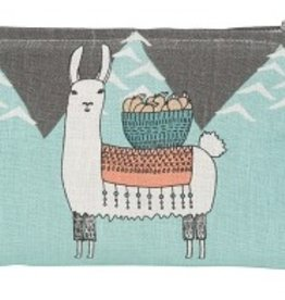 Danica Studio Small Cosmetic Bag, Llamarama
