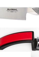 Global Knife & Sharpener Set (G46, 220 Red)