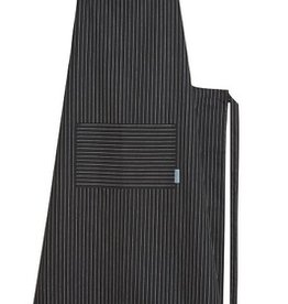 Now Designs Apron Mighty, Pinstripe Black