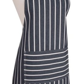 Now Designs Apron Chef, Navy Butcher Stripe