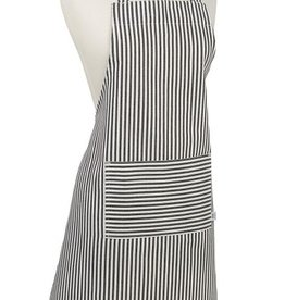 Now Designs Apron Chef, Narrow Stripe, Black