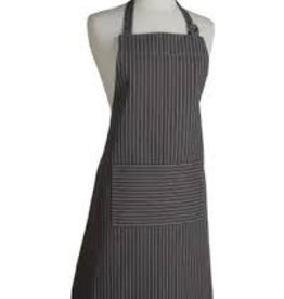 Now Designs Basic Apron, Pinstripe Black