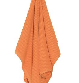Now Designs Ripple Dishtowel, Kumquat