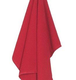 Now Designs Ripple Dishtowel, Red