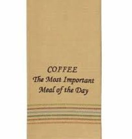 Park Designs/Split P Coffee Most Important Dishtowel
