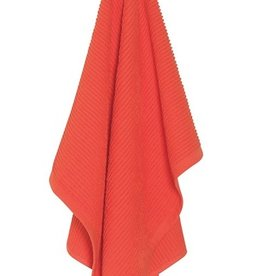 Now Designs Ripple Dishtowel, Tangerine