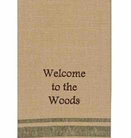 Park Designs/Split P Welcome to the Woods Dishtowel