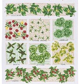 Now Designs Dishtowel, Garden Plot Print