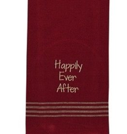 Park Designs/Split P Happily Ever After Dishtowel