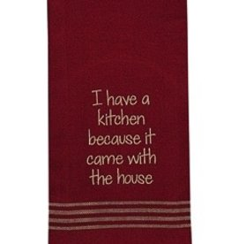 Park Designs/Split P I Have A Kitchen Dishtowel