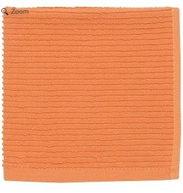 Now Designs S/2 Ripple Dishcloths, Kumquat