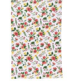Now Designs Dishtowel, Midnight Garden Print