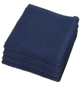 Now Designs S/2 Ripple Dishcloths, Indigo